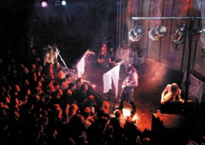 "Christian Death at the Leipzig (Germany) Festival. ""Pornographic Messiah"" European tour."