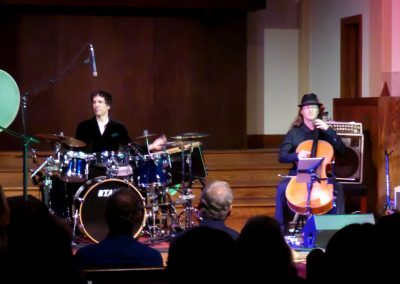 Ariana Saraha (Extended Ensemble), Pine Street Church, Boulder, CO. 9/22/17. Photo by Dave Cacela.